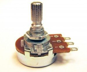 A 500KOhm Potentiometer Volume Control for Cigar Box Guitars