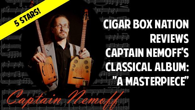 Captain Nemoff Cigar Box Guitar Album