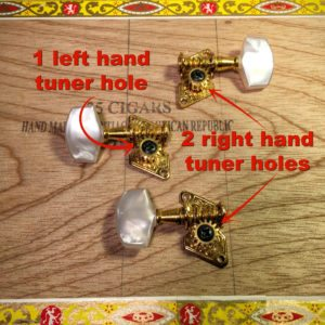 incorrect hole for the tuner