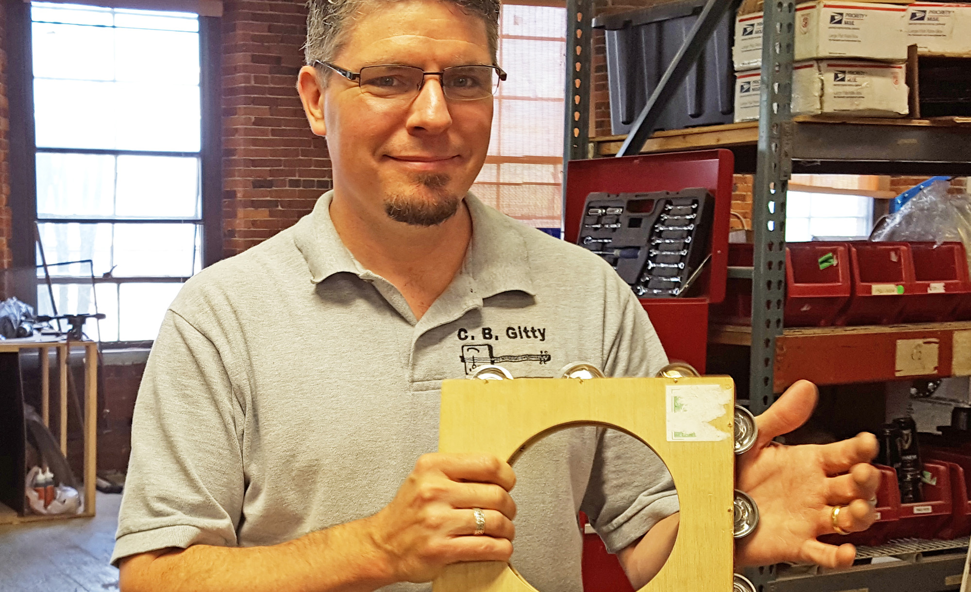 How to Make a Tambourine from a Cigar Box