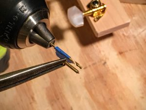 make a depth gauge for your drill bit