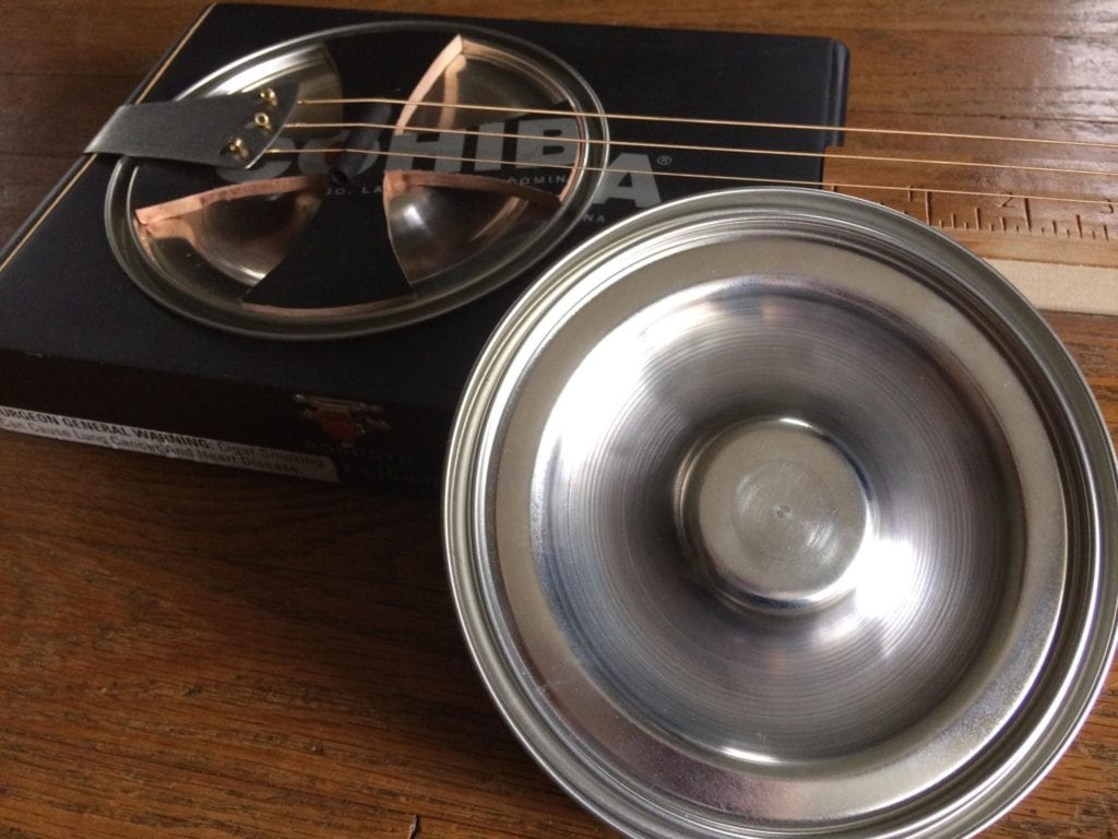 C. B. Gitty Hubcap Resonator Cone