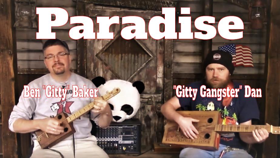"""John Prine's """"Paradise"""" Performed By Ben """"Gitty"""" Baker & Dan"""