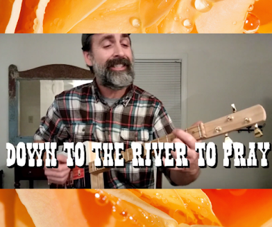 """""""Down To The River To Pray"""" 3-String Cigar Box Guitar Lesson [VIDEO]"""