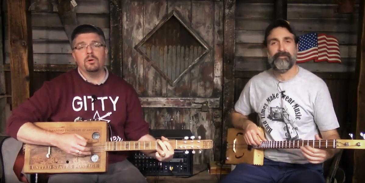 """[VIDEO] """"Hobo's Lullaby"""" performed by Ben """"Gitty"""" Baker"""
