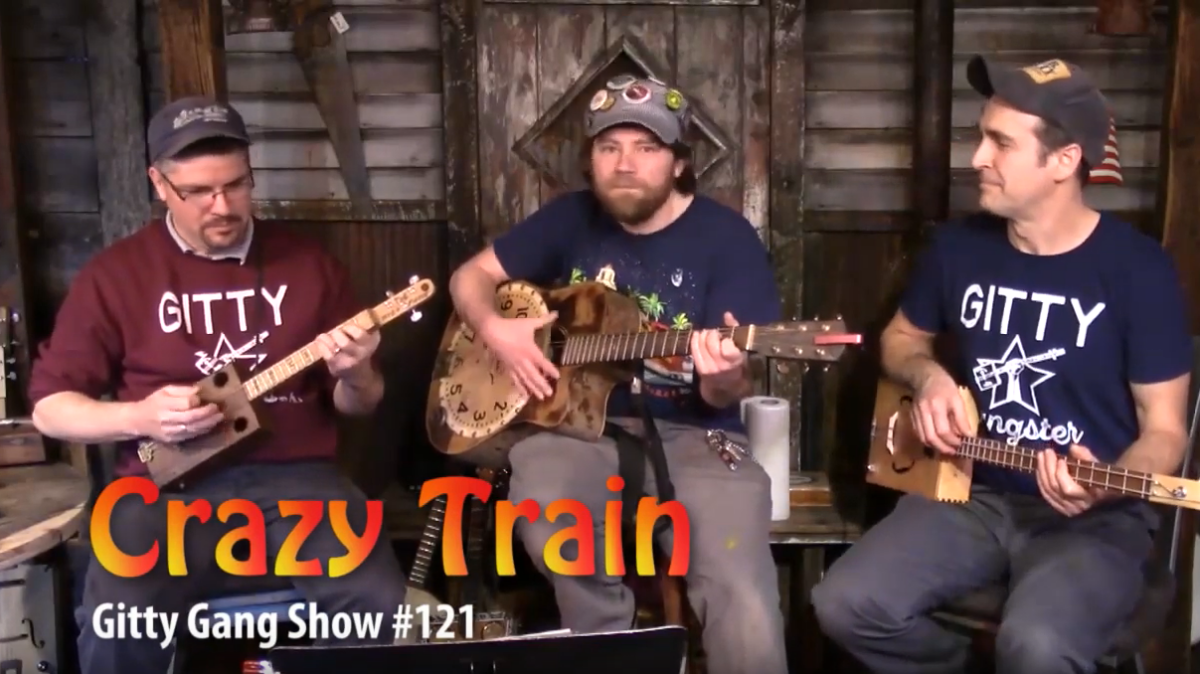 "[VIDEO] The Gitty Gang Goes Off The Rails Playing Ozzy Osborne's ""Crazy Train"""