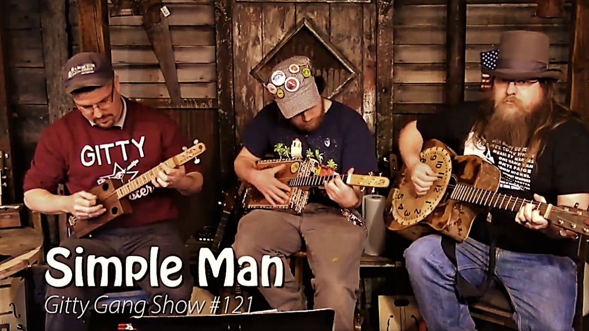 Nick Lanciano leads the Gitty Gang in covering Skynyrd's Simple Man [VIDEO]