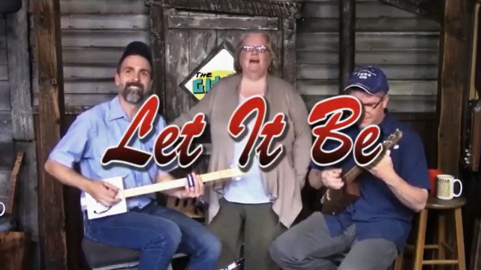 [VIDEO] Let It Be performed on Gitty Gang Show #44