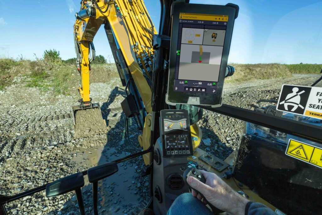 Trimble Earthworks for Excavators