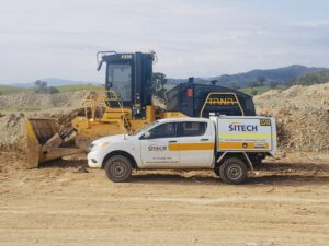 TANA Trimble CCS900 Visionlink Mid West Regional Council landfill