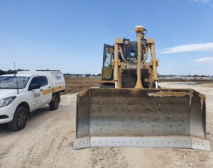 SITECH Solutions Bakers Group Nepean Business Park Trimble Earthworks machine control GCS900