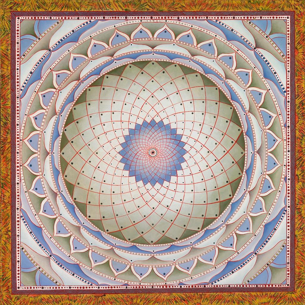 White-Mandala