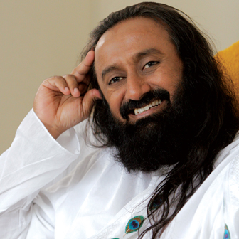 His Holiness Sri Sri Ravi Shankar
