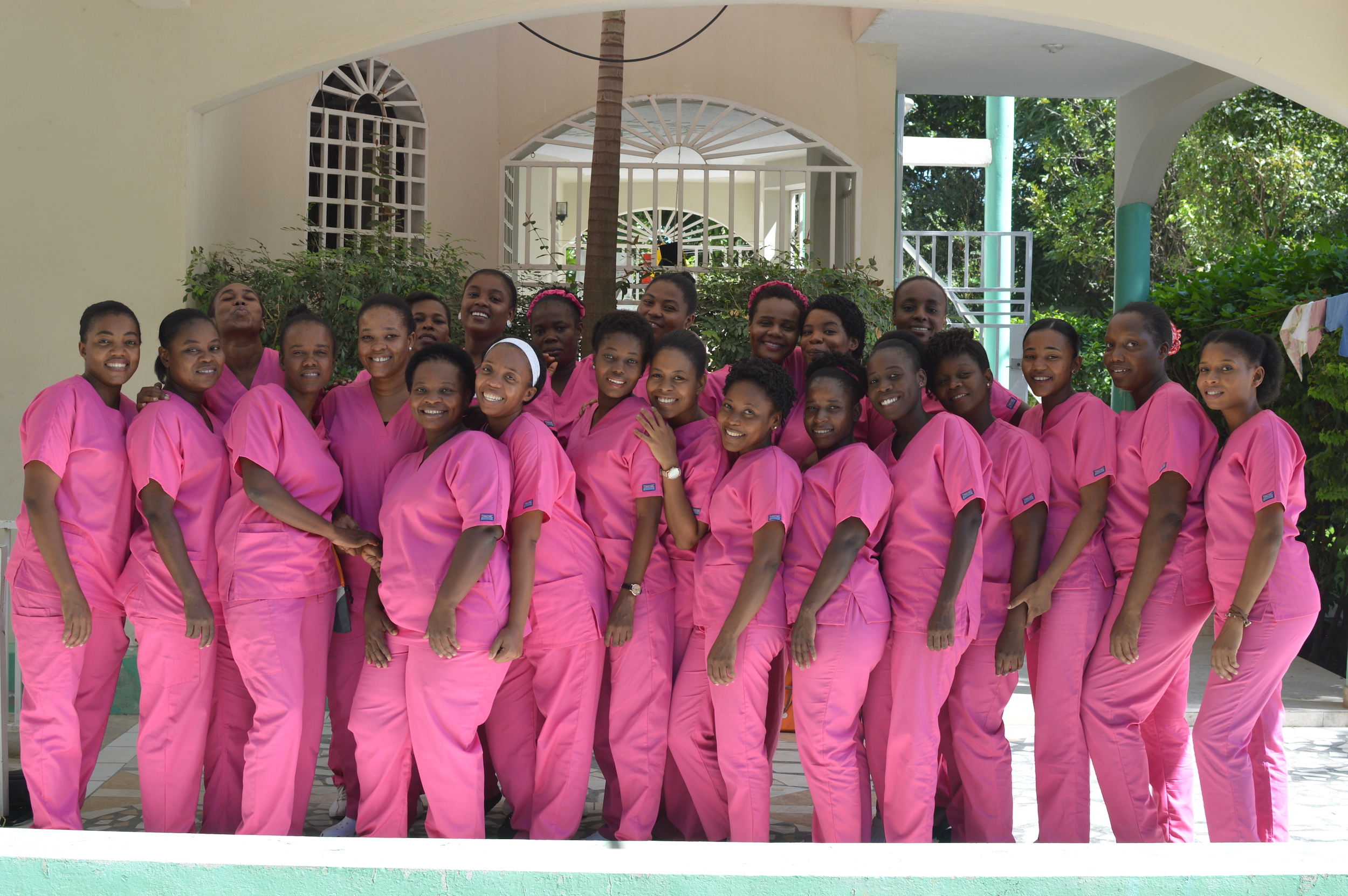 Group of graduated Midwives