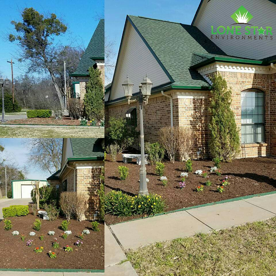 landscape install caddo mills texas