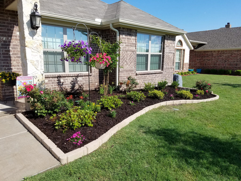 Landscaping Install Greenville Tx