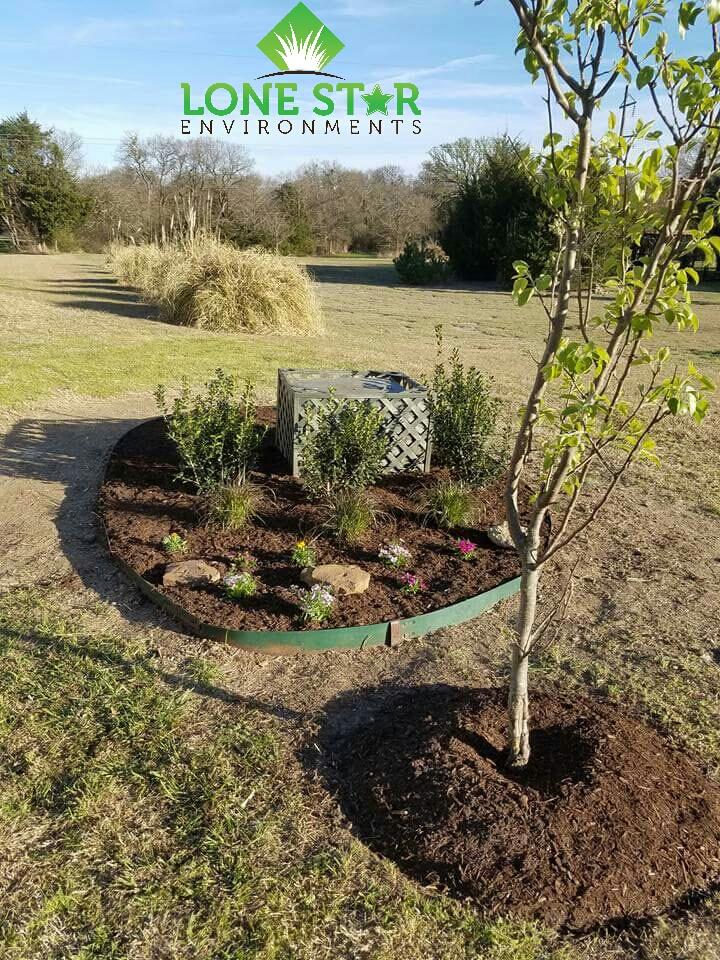 mulch install caddo mills texas