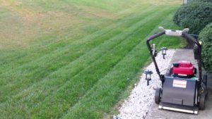 push mower stripes