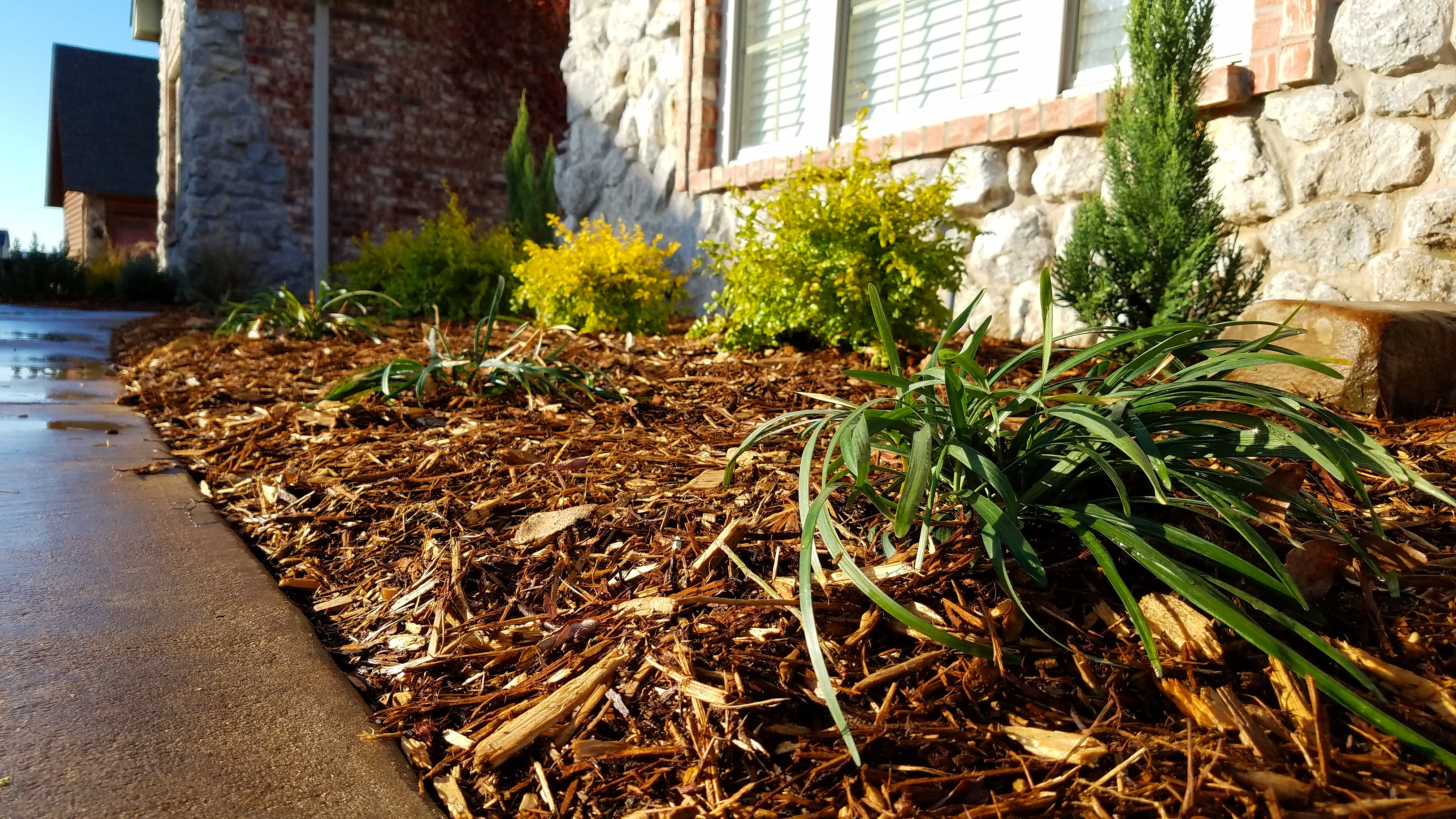 Royse City Tx Mulch Installation