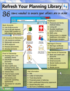 36 Items Needed to Ensure Your Affairs Are In Order