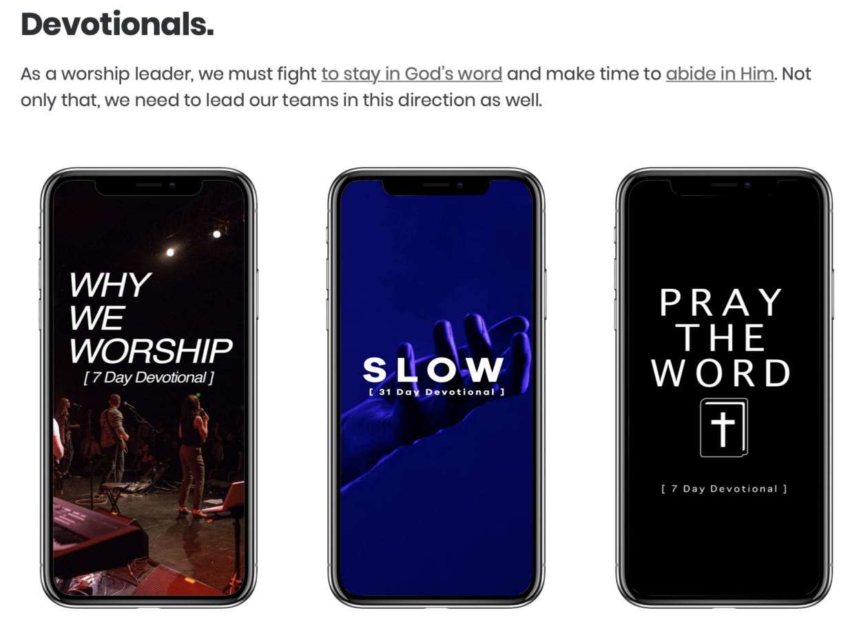"""New 7 Day Devotional - """"Why We Worship"""""""