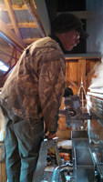 Sap Evaporation to Syrup