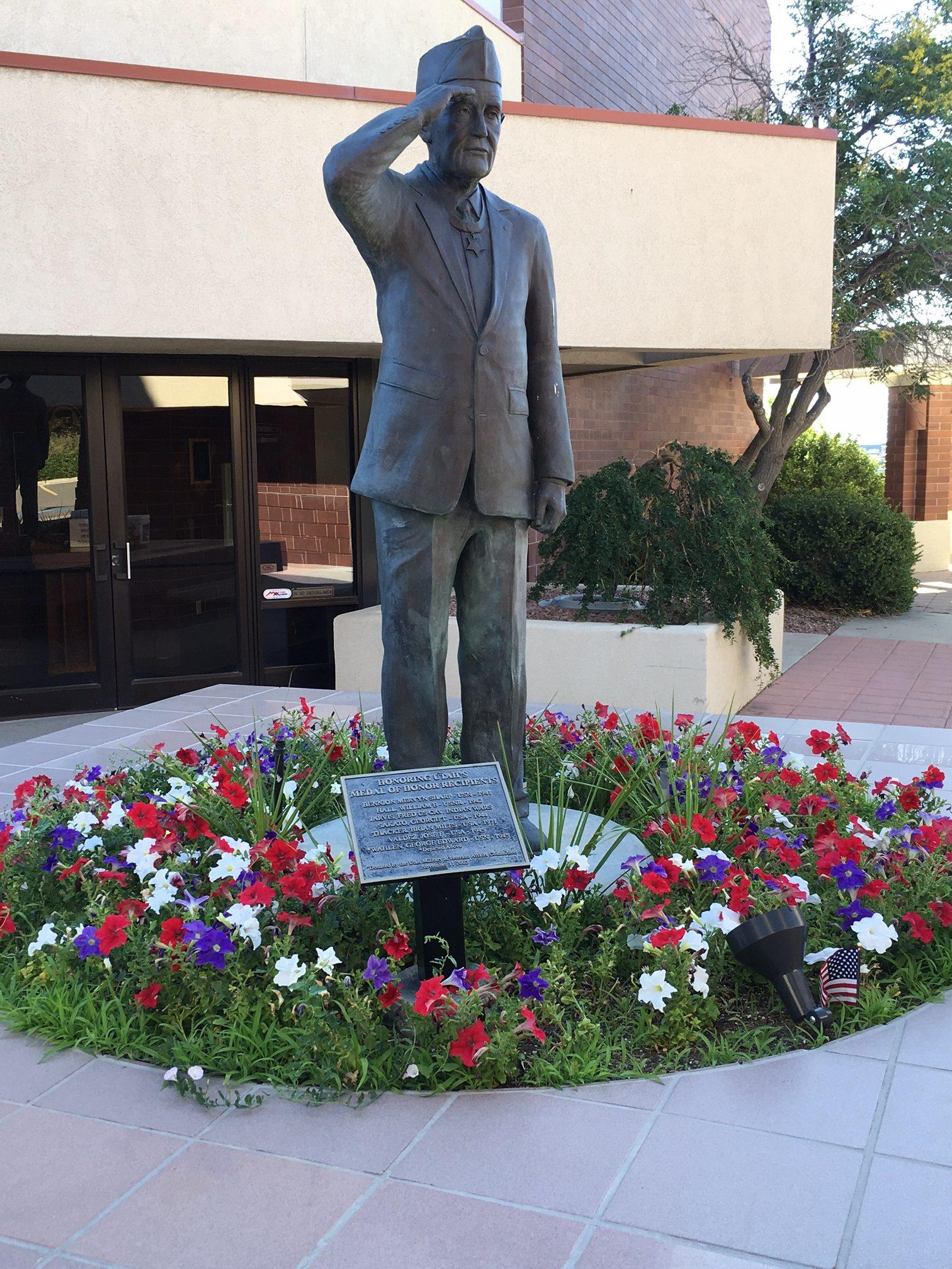 Memorial Park Statue