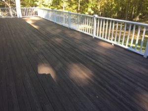 Deck stain in Danbury Ct