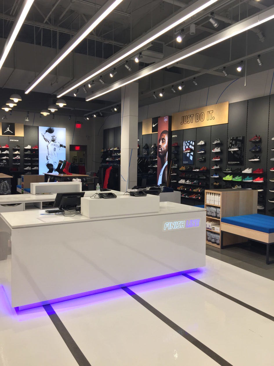 Finish Line Commercial retail store