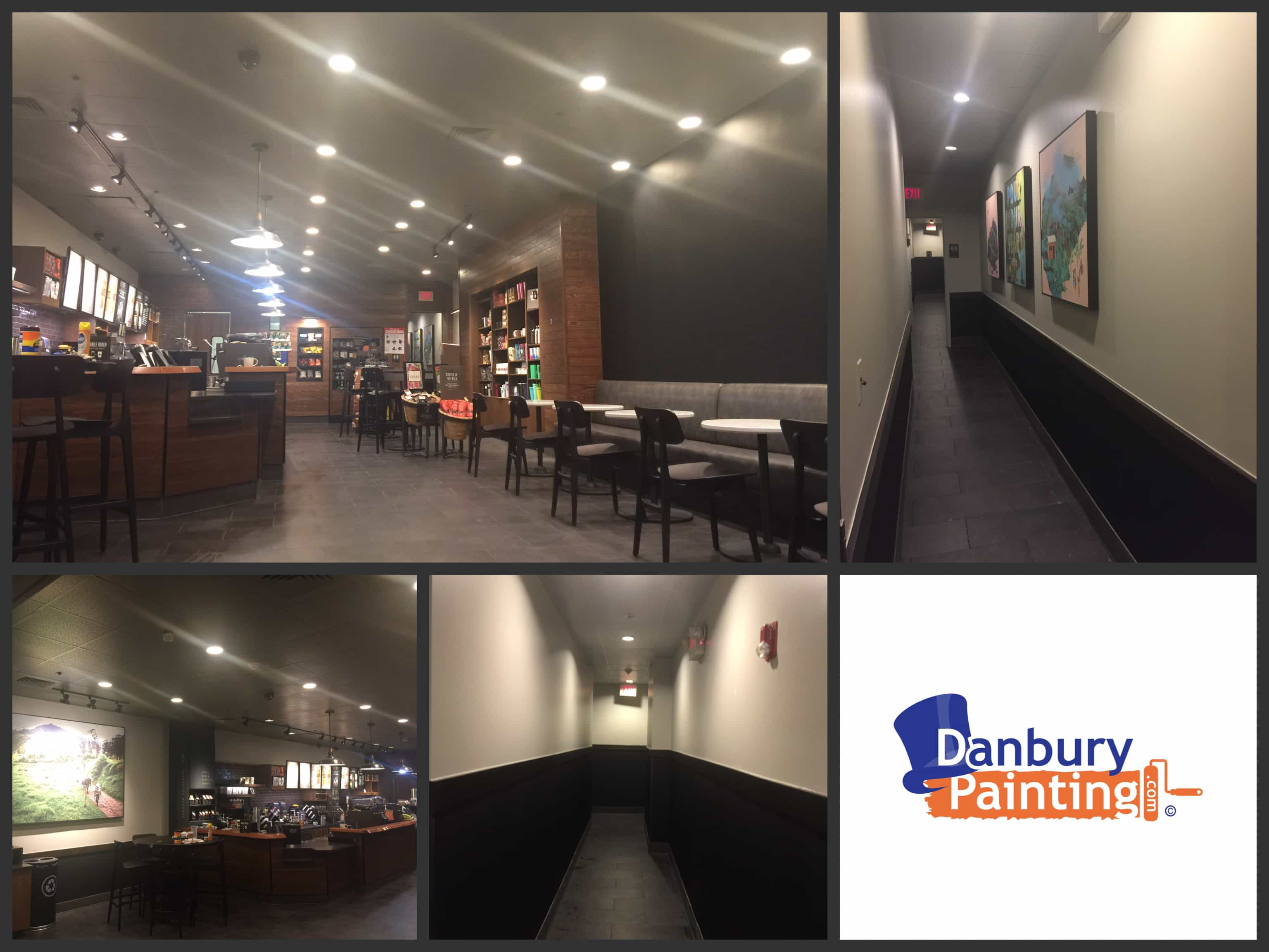 Starbucks fairfield ct Commercial Painting Company