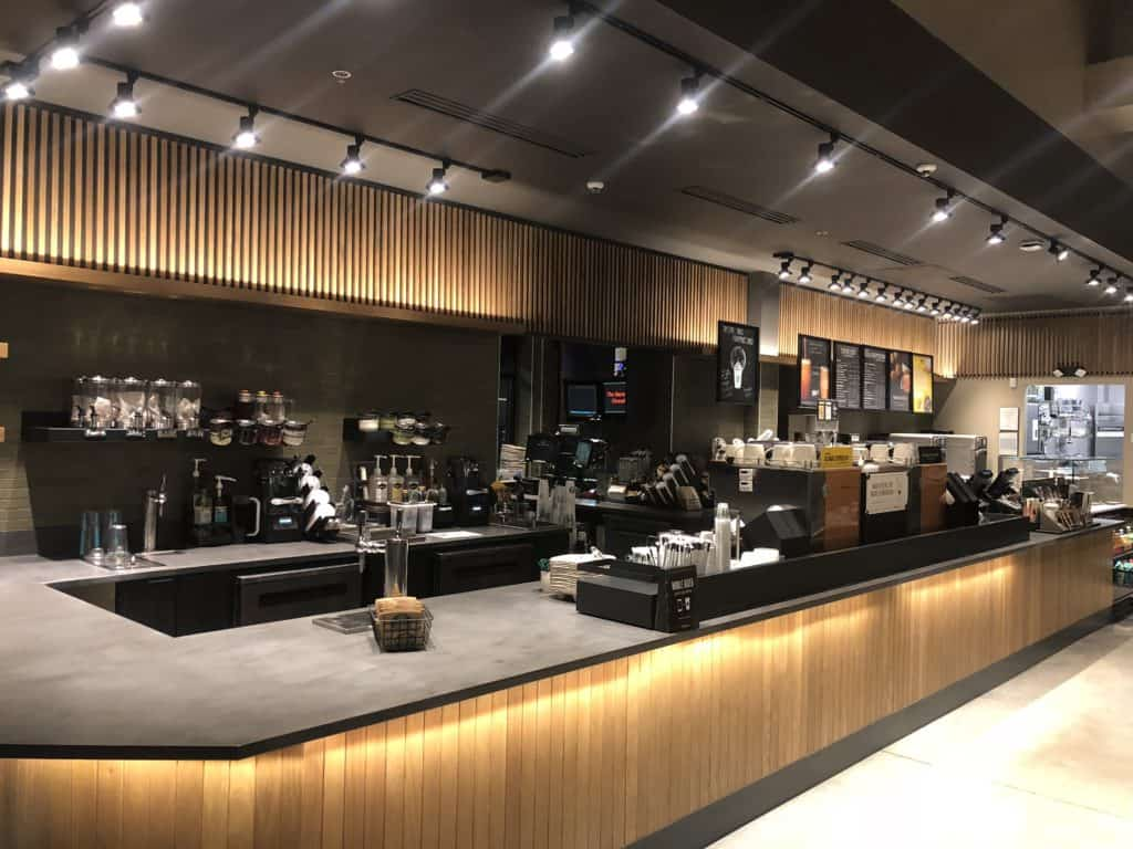 Commercial Painting Starbucks Lancaster PA