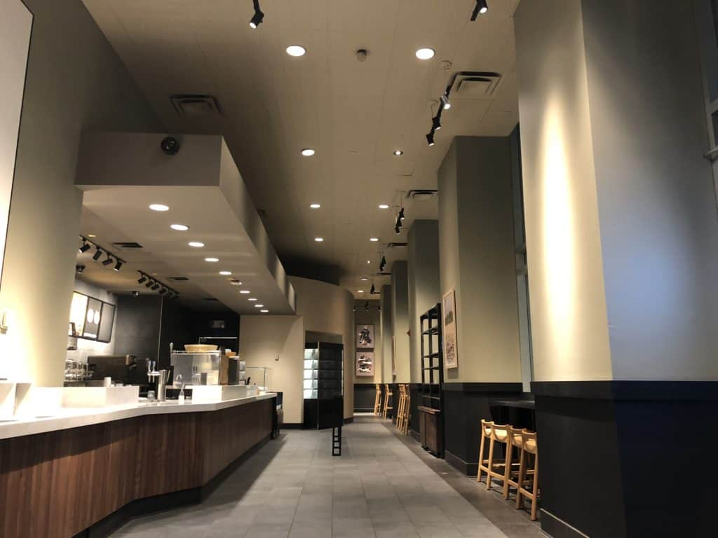 Commercial Painting Starbucks NYC