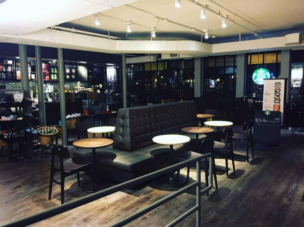 Starbucks Saratoga Springs NY Danbury Painting