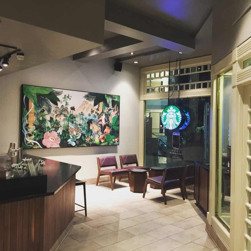 Starbucks Stamford CT Painted by Danbury Painting