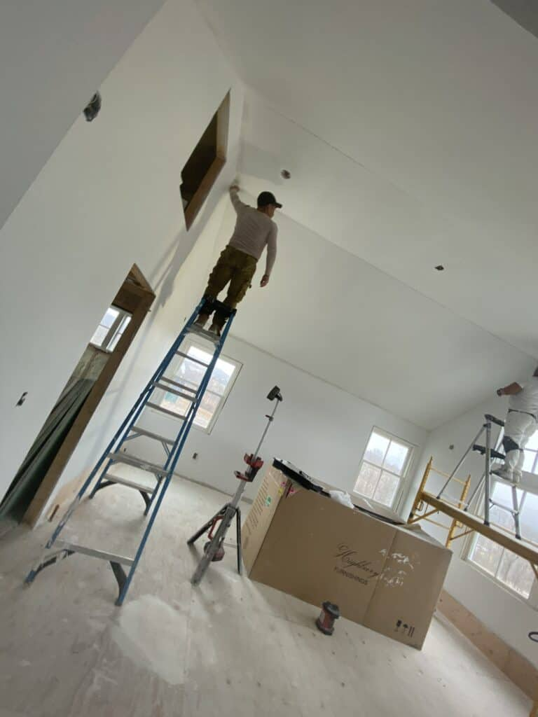Compound and finishing taping  of drywall danbury ct kent ct sharon ct