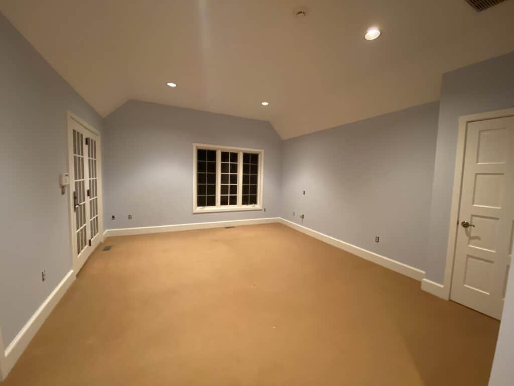 Interior Painting of Bedroom Brookfield, Ct.