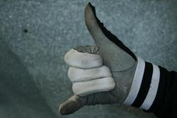 hand-signal-Check-Arms
