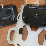Broken TouraTech luggage plate