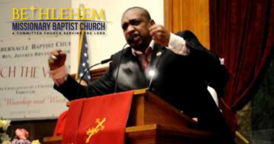 Pastor Jeffery Bryan's Sermon