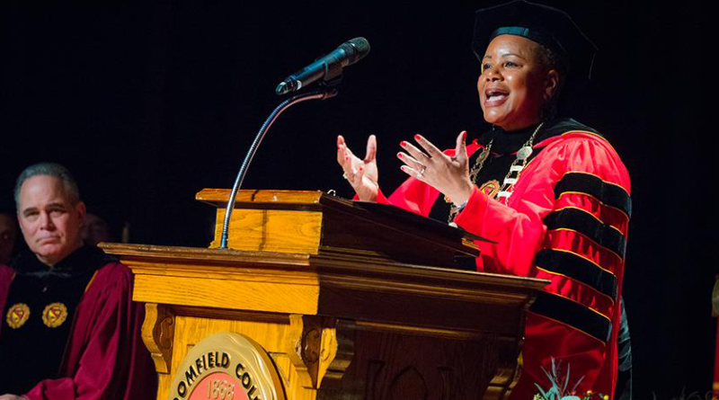 Dr. Marcheta P. Evans inaugurated as the President of Bloomfield College