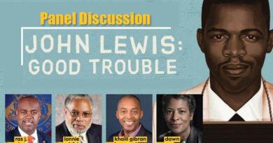 NJPAC's John Lewis: Good Trouble Panel Discussion