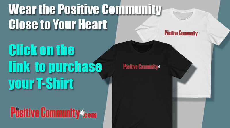 The Positive Community T-Shirts and Apparel