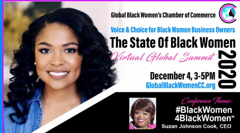 "STATE OF BLACK WOMEN ™VIRTUAL SUMMIT"""