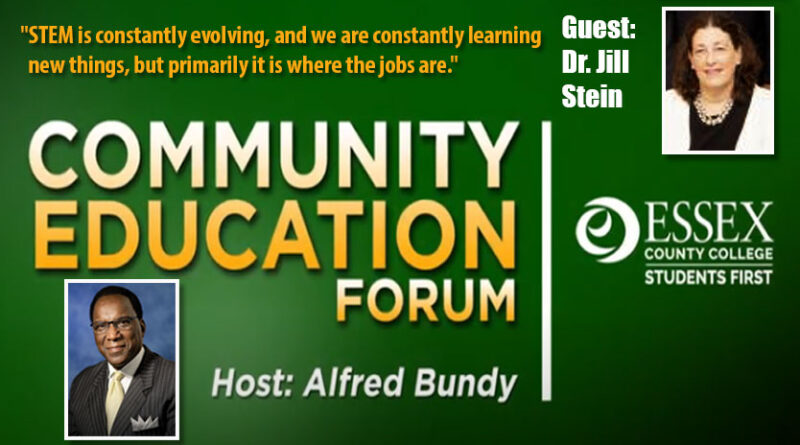 Essex County College Community Education Forum with guest Dr. Jill Stein