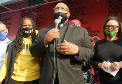 March after guilty of all charges verdict in Harlem April 20th 2021