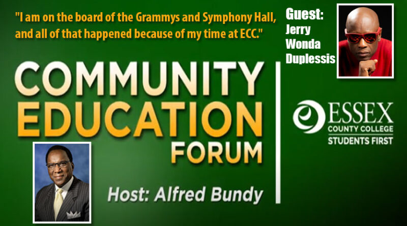 ECC Community Education Forum with Alfred Bundy and guest Jerry Wonda Duplessis