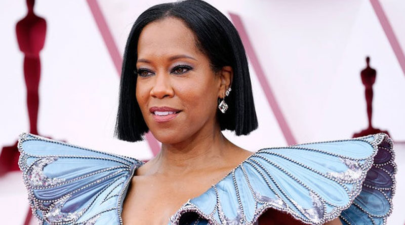 Regina King reacts to Chauvin verdict in Oscars opening