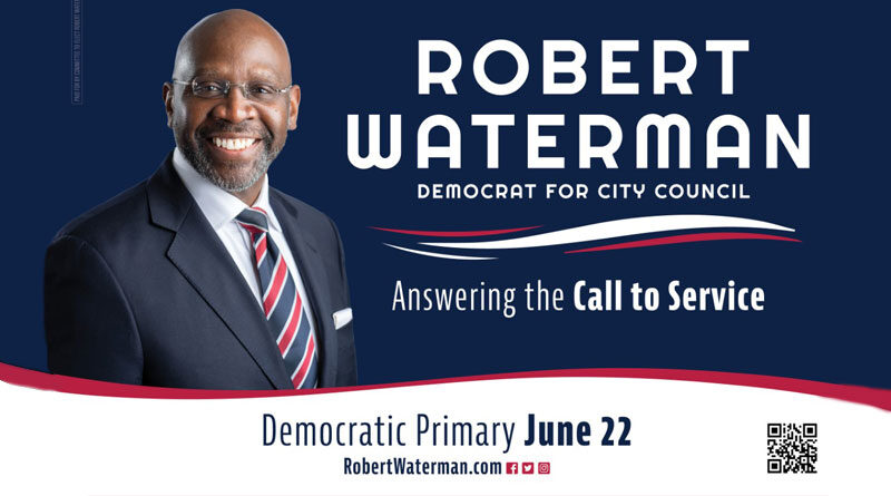 Rev. Robert Waterman Makes Run for City Council