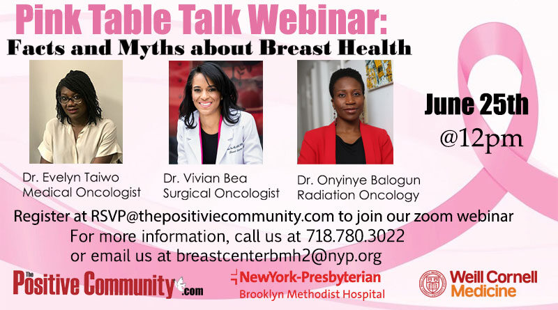 Pink Table Talk Discusses Breast Cancer