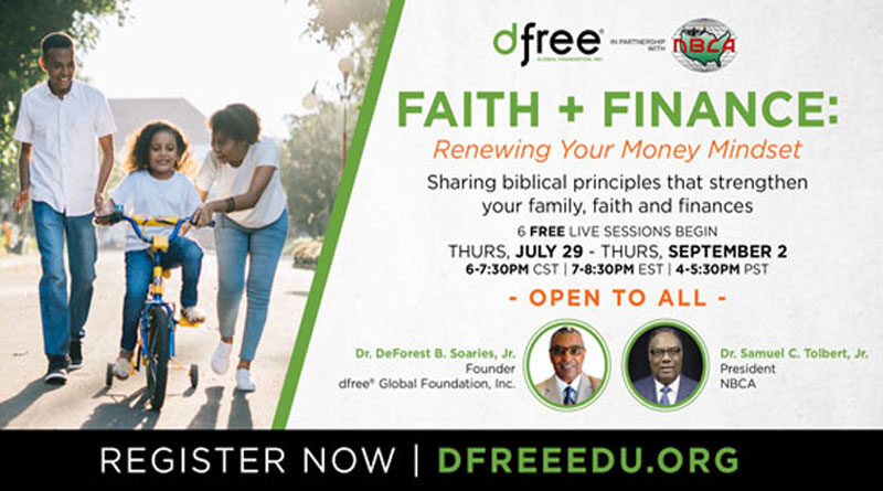Take our dfree(R) Academy Faith & Finance Course for FREE!